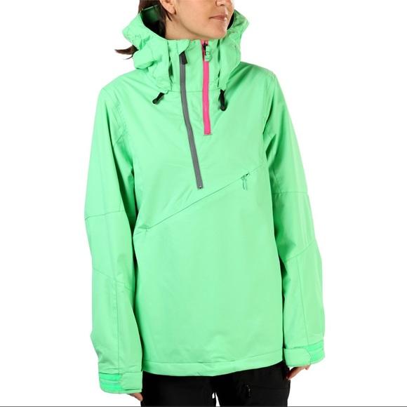 Mint green Volcom pullover